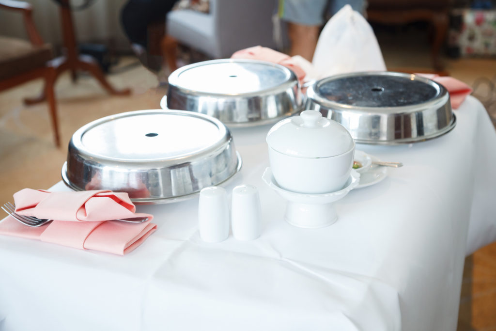 room service food beverage hotel dining drinks serving delivery board guests hotels meals trolley concept catering resorts customers convenience vision
