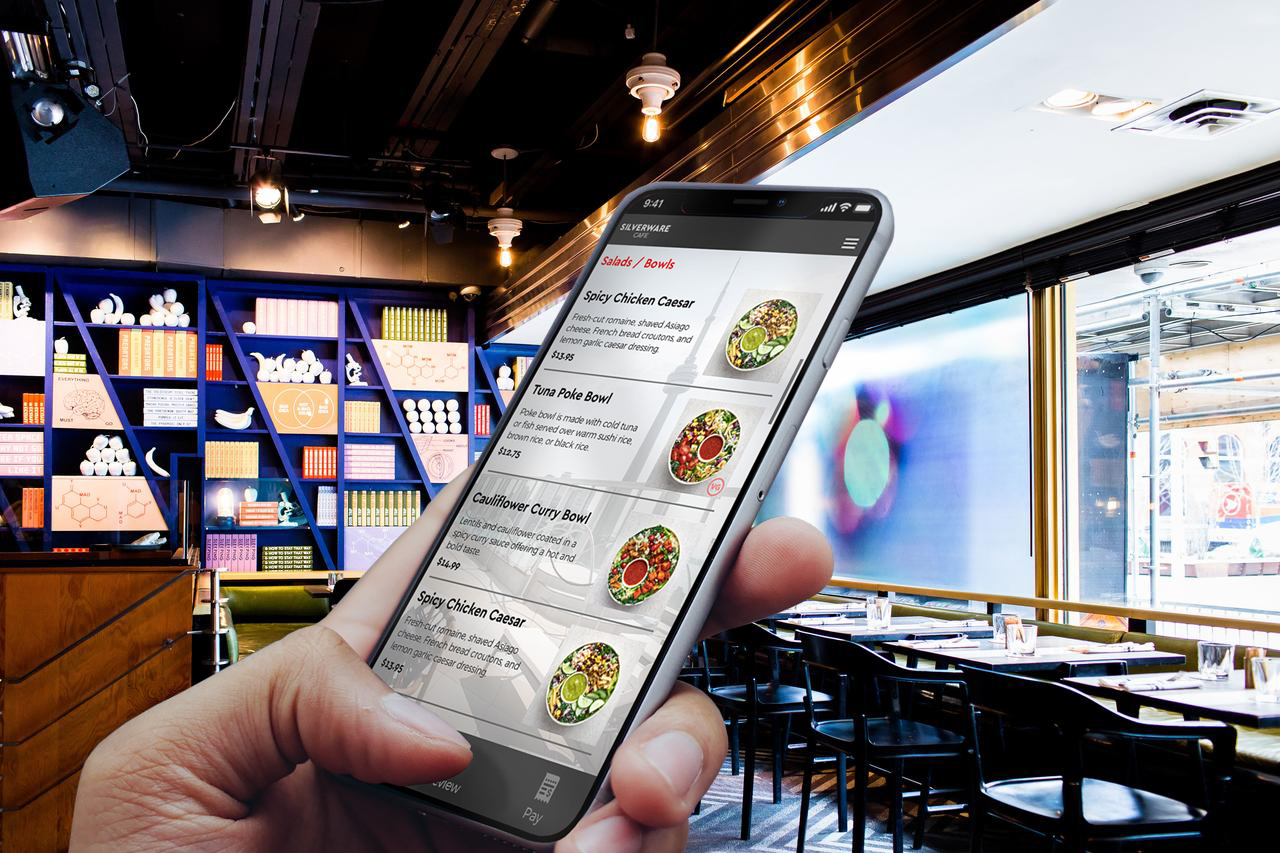 SilverWare POS Launches In-Seat Contactless Ordering and Payments Platform to Enhance the Hotel Guest Dining Experience and Up Check Averages